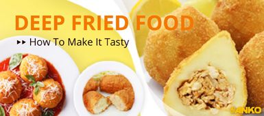 How to use ANKO's food machine to make Deep Fried Foods