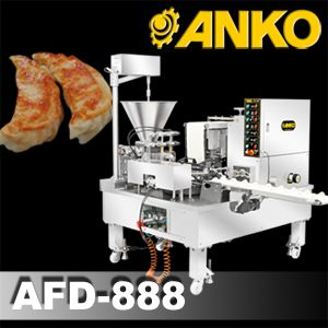 Automatic Dual Line Imitation Hand Made Dumpling Machine - AFD-888. ANKO Automatic Dumpling Folding Machine