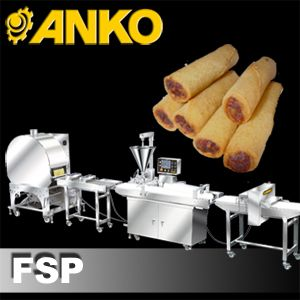 Fully Automatic Finger Spring Roll Production Line - FSP. ANKO Fully Automatic Finger Spring Roll Production Line