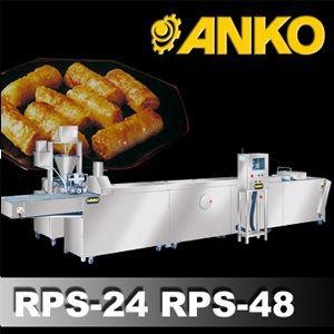 Vietnamese Rice Paper Spring Roll Machine - RPS-24 RPS-48. ANKO Vietnamese Rice Paper Spring Roll Machine