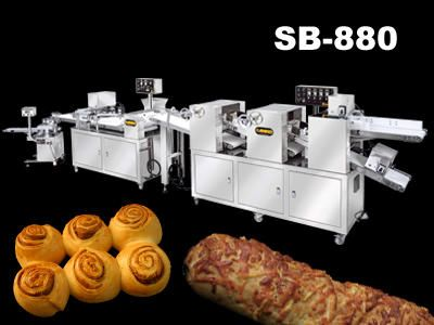 Automatic Multi Function Sheeting, Filling Rolling & Forming Production Line - SB-880. ANKO Automatic Multi Function Sheeting, Filling Rolling & Forming Production Line