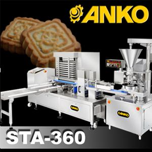 Automatic Maammoul And Moon Cake Production Line - SD-97W+STA-360. ANKO Automatic Maamoul Line and Moon Cake Production Line