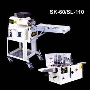 Ice Box Cookies Extruder and Slicer - SK-60/SL-110. ANKO Ice Box Cookies Extruder and Slicer