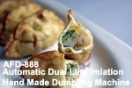 automatic dual line imitition hand made dumpling machine AFD-888