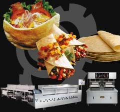 Chapati Machine and Pita Bread Machine