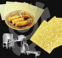 Spring Roll Machine, Pastry Machine and Crepe Machine