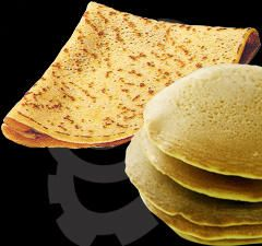 Crepe and Pancake Machine