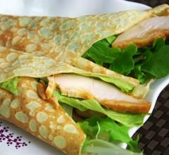 ANKO Food Machine - Crepe Roll With Chicken Salad