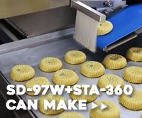 Automatic Maammoul And Moon Cake Production Line